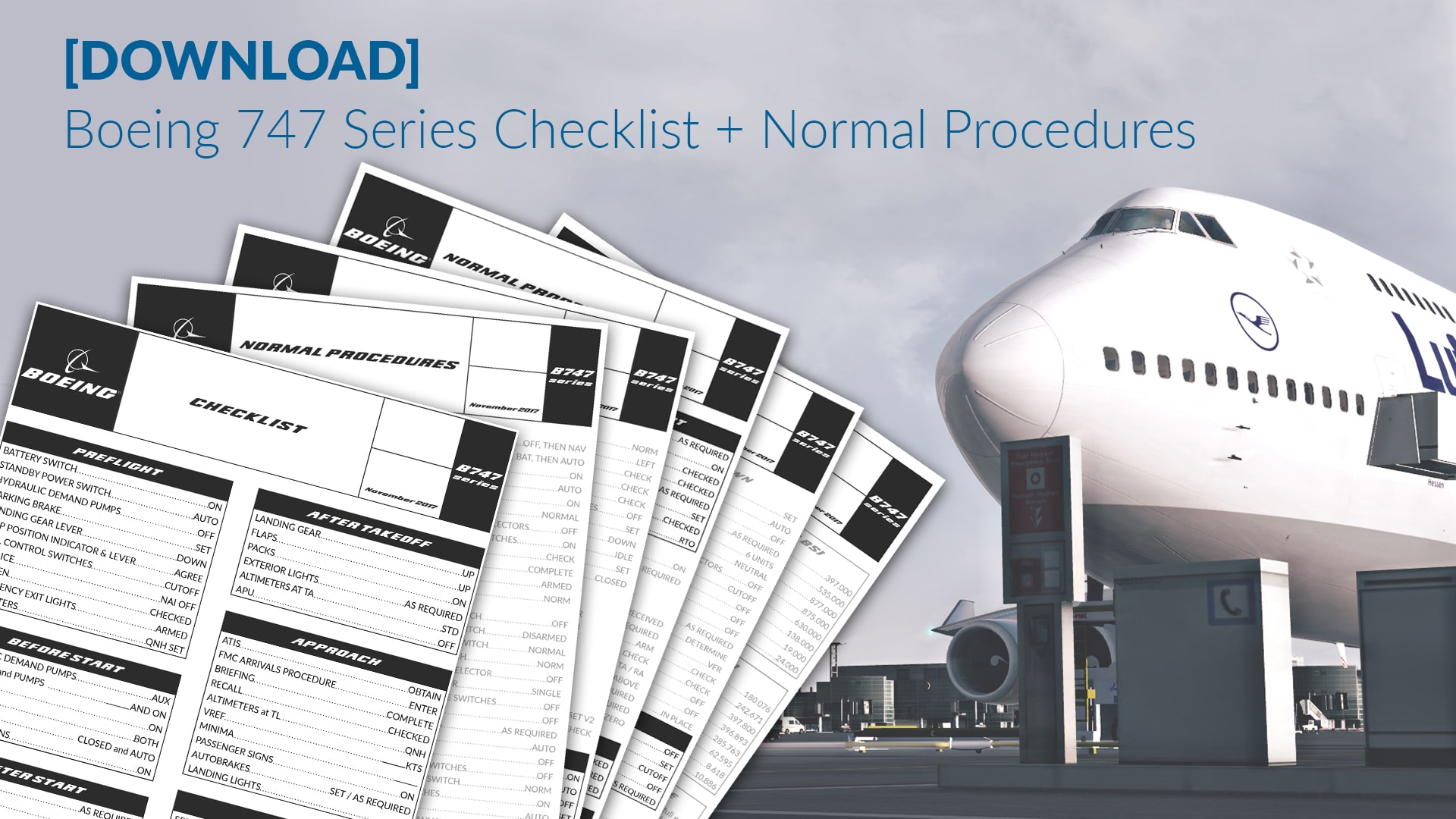[DOWNLOAD] Boeing 747 Series Checklist – Normal Procedures