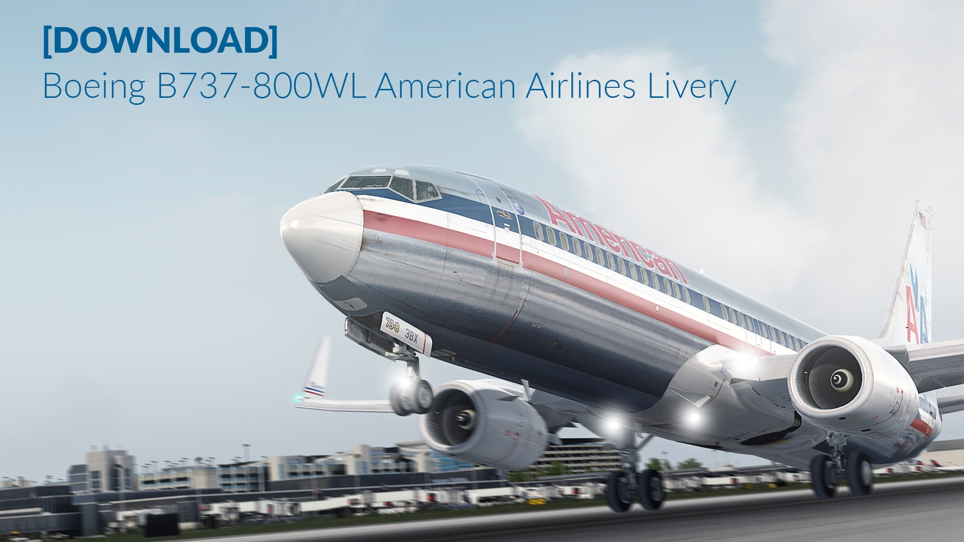 Livery | Boeing B738 American