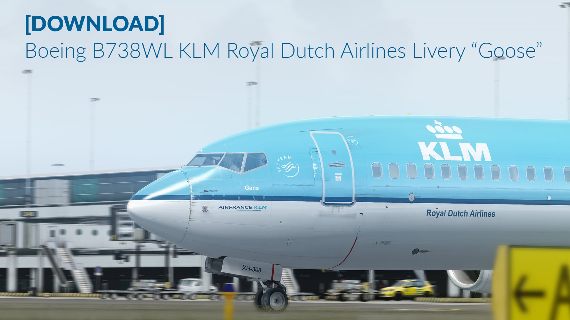 "Livery | Boeing B738 KLM ""Goose"""