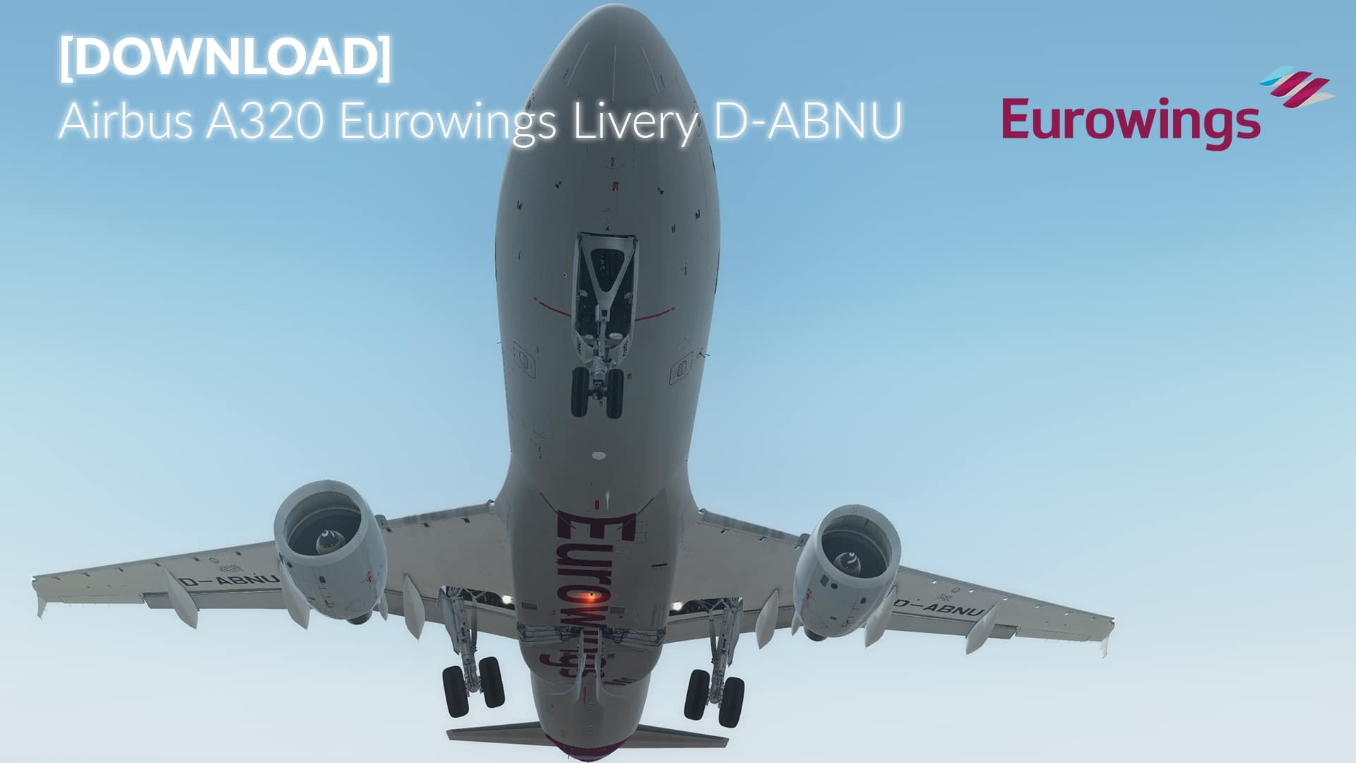 Livery FSLabs A320-X Eurowings D-ABNU