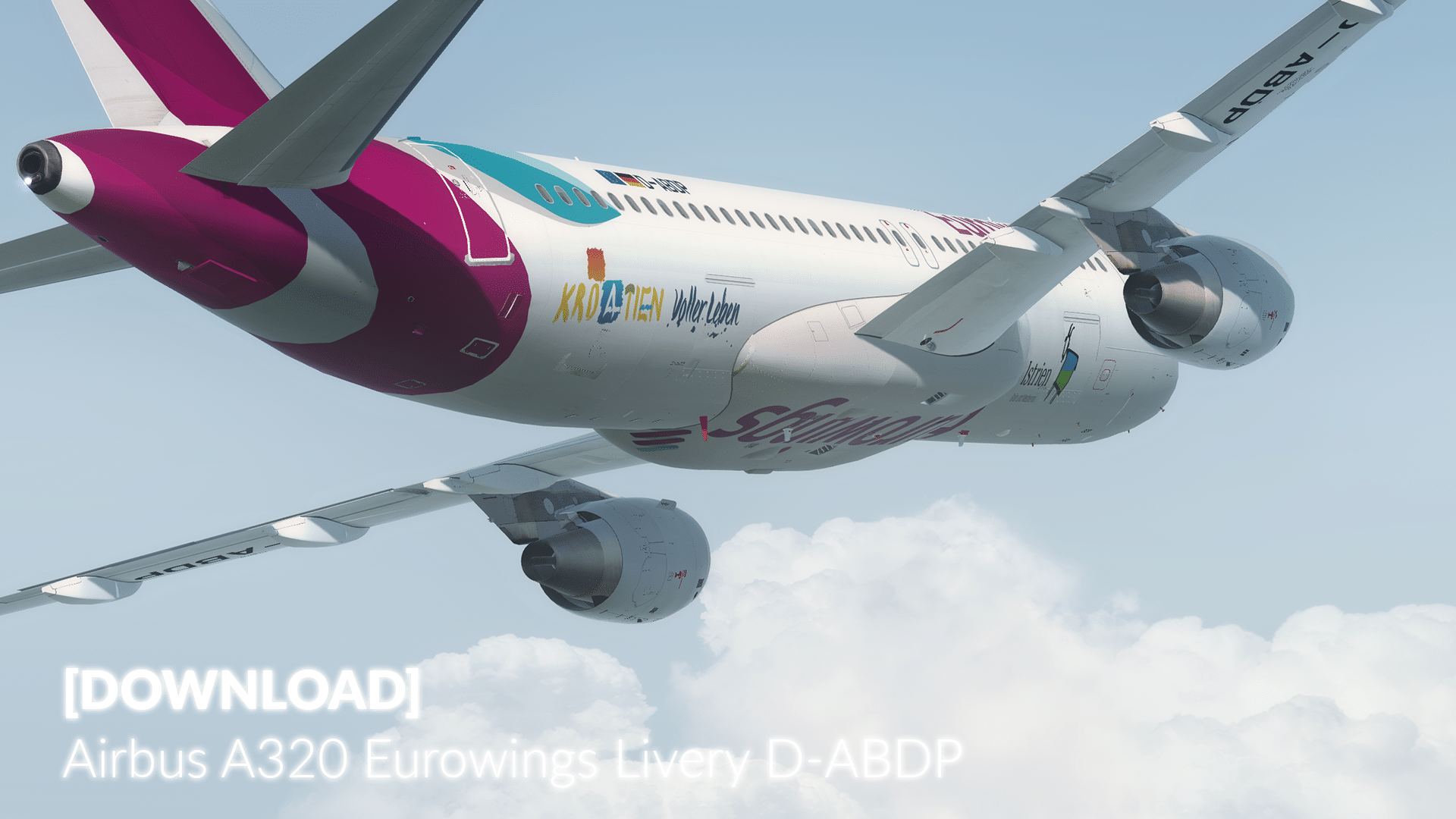 Livery FSLabs A320-X Eurowings D-ABDP