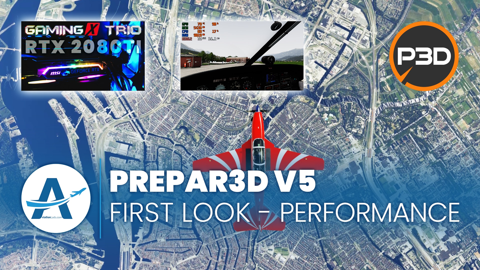 [P3D V5] FIRST LOOK – SERIES | PERFORMANCE