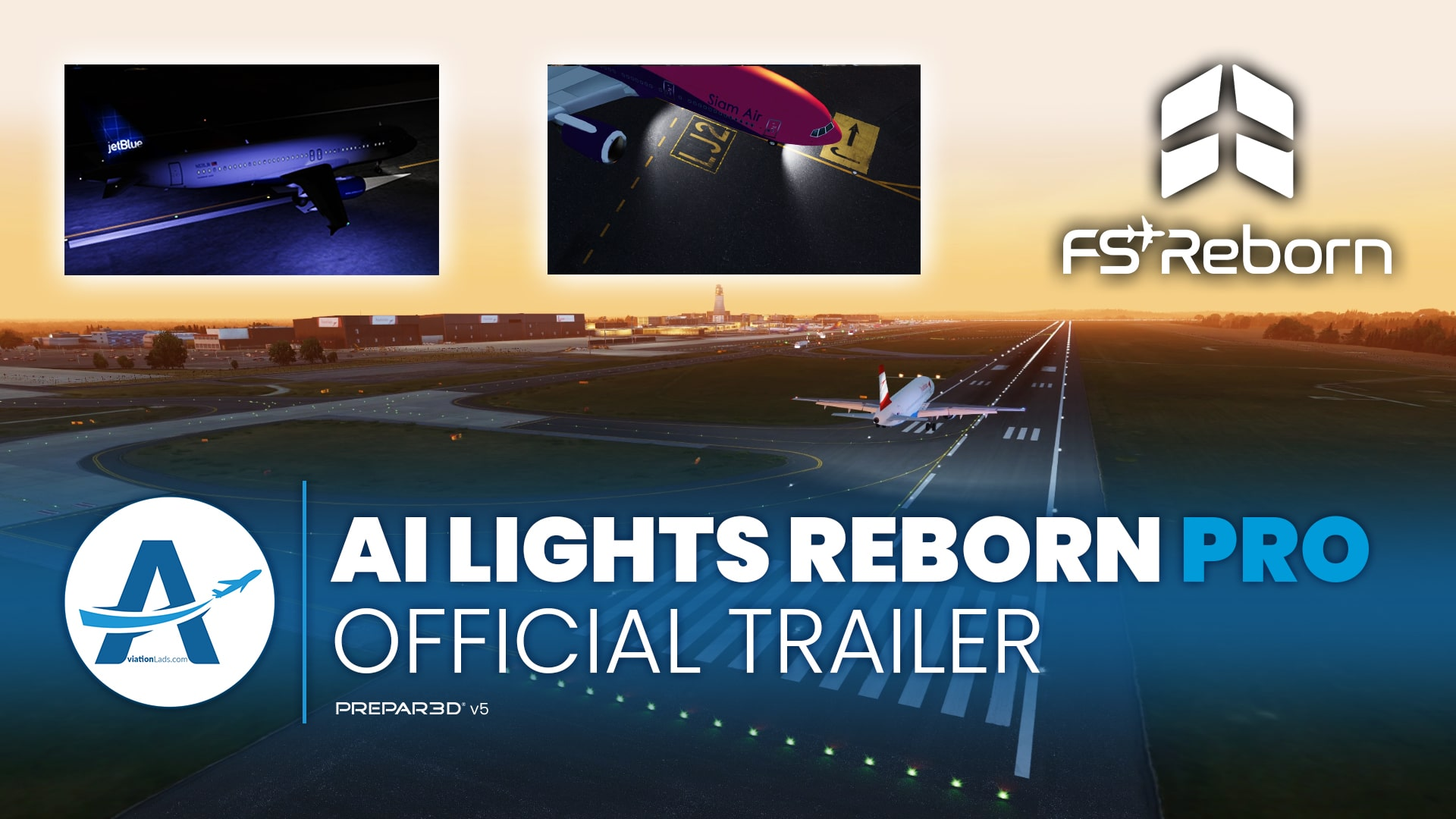 [TRAILER] FSREBORN | AI LIGHTS REBORN