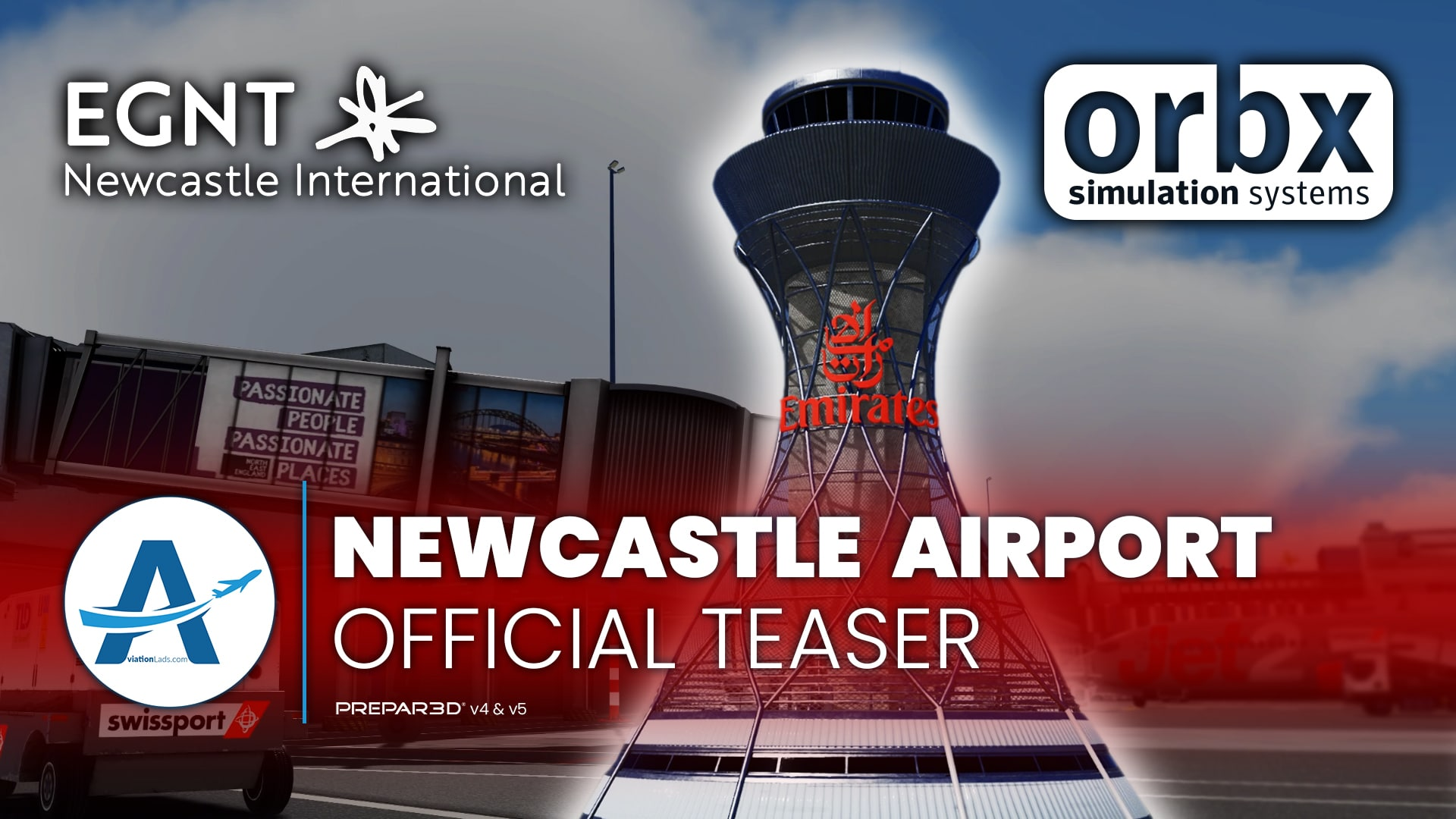 [TEASER] Orbx – Newcastle Airport