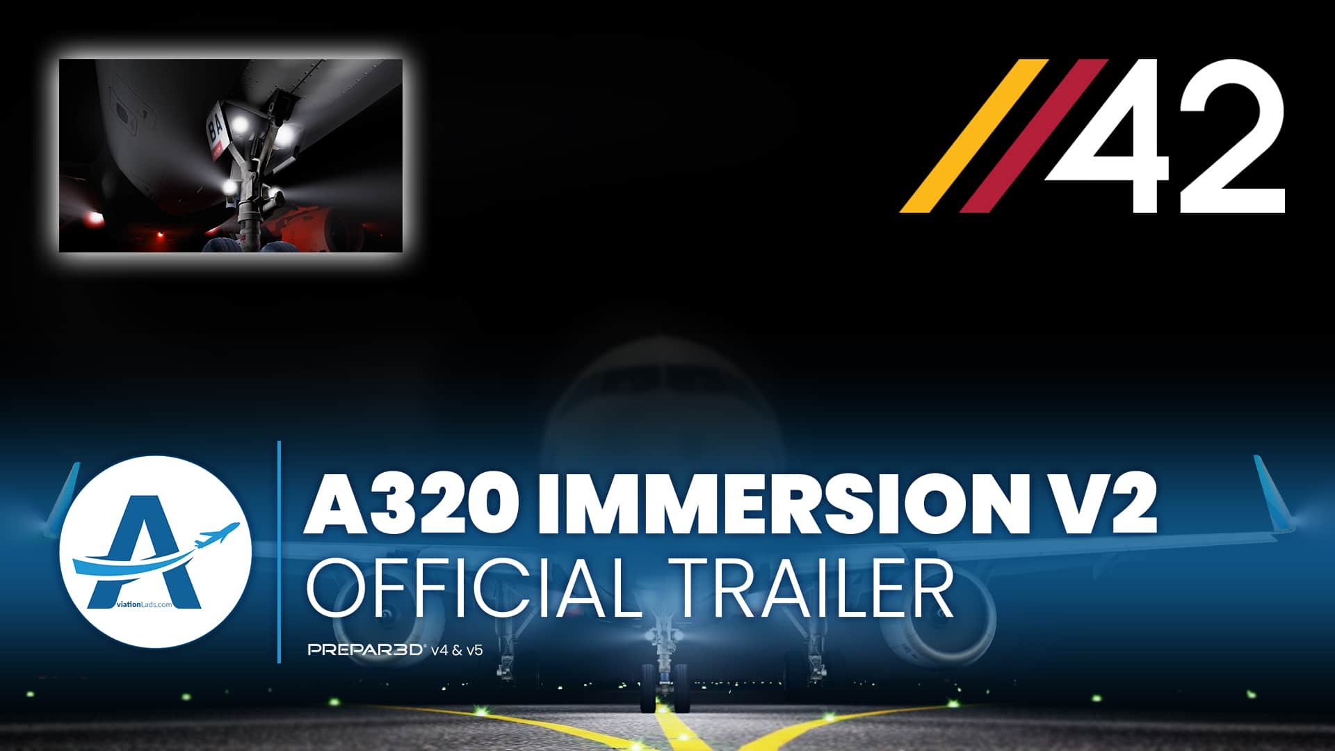 [TRAILER] Parallel 42 – A320 Immersion v2