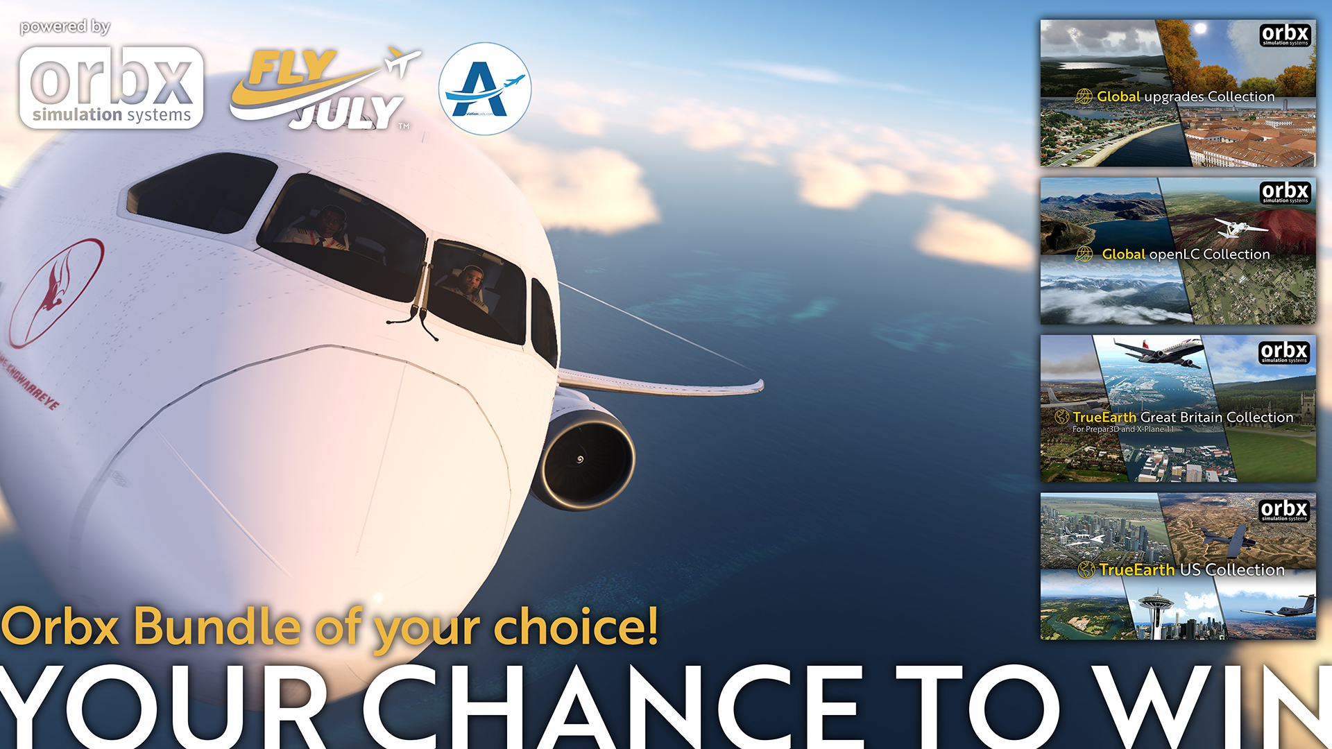 [FLYJULY] WIN AN ORBX BUNDLE