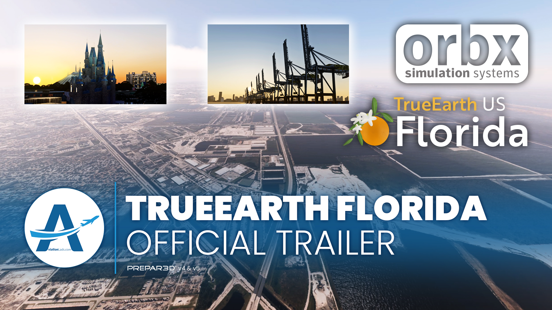 [TRAILER] Orbx – TrueEarth Florida