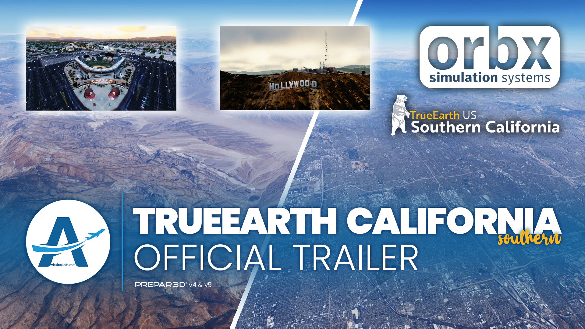[TRAILER] Orbx – TrueEarth SoCal