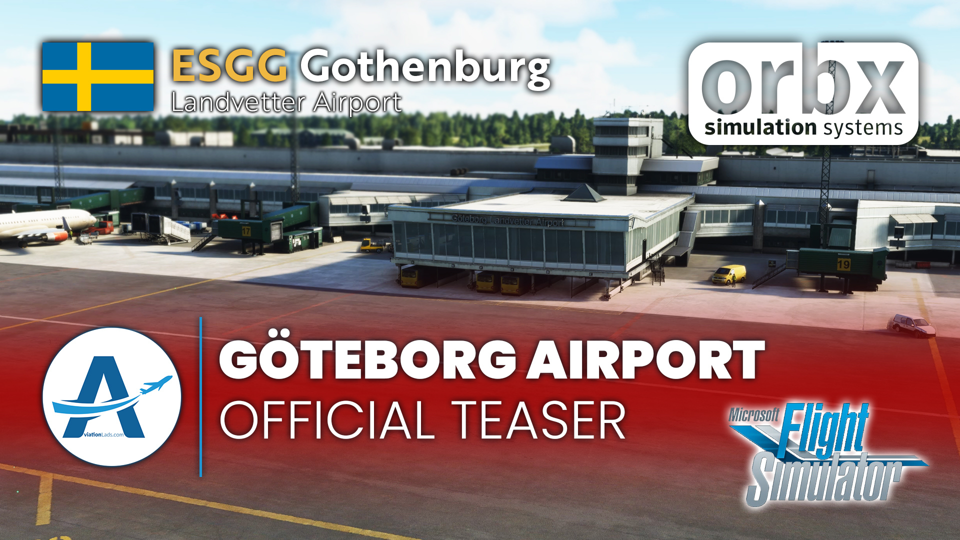 [TRAILER] Orbx Gothenburg Airport