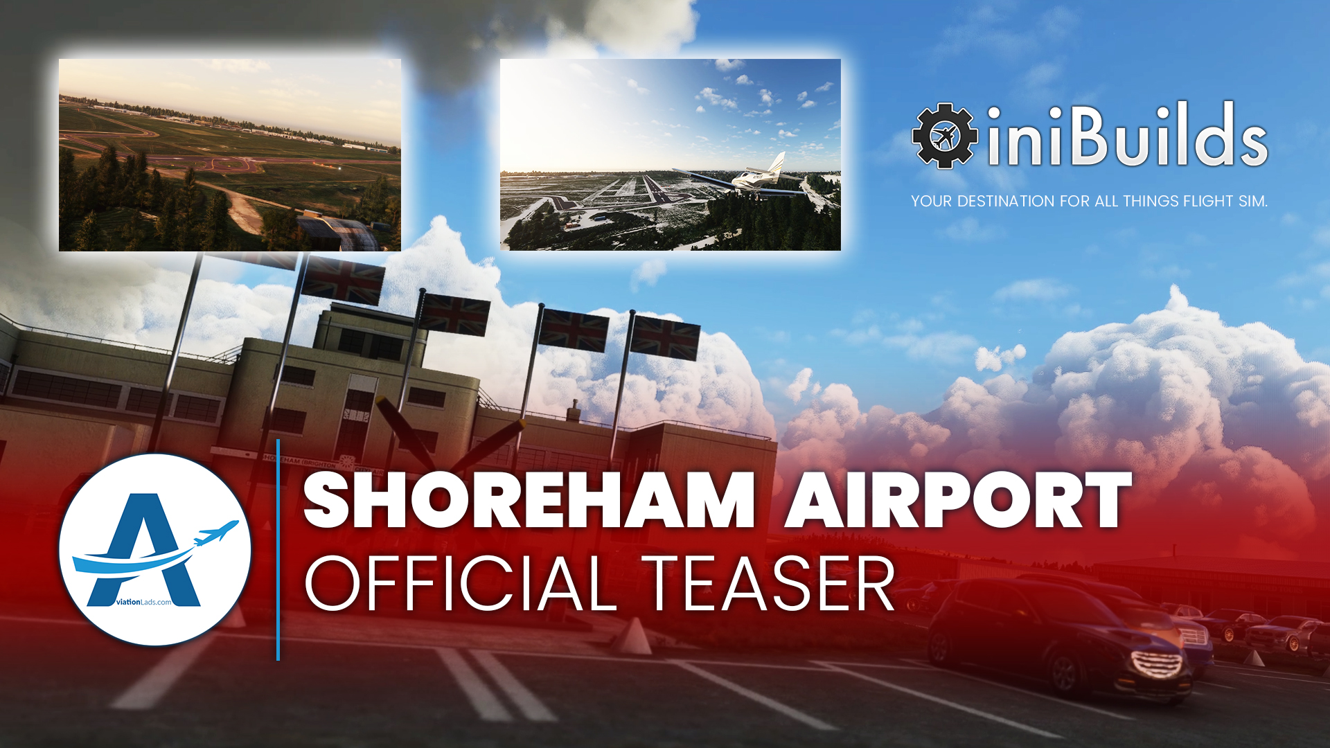 [TEASER] iniBuilds – Shoreham Airport