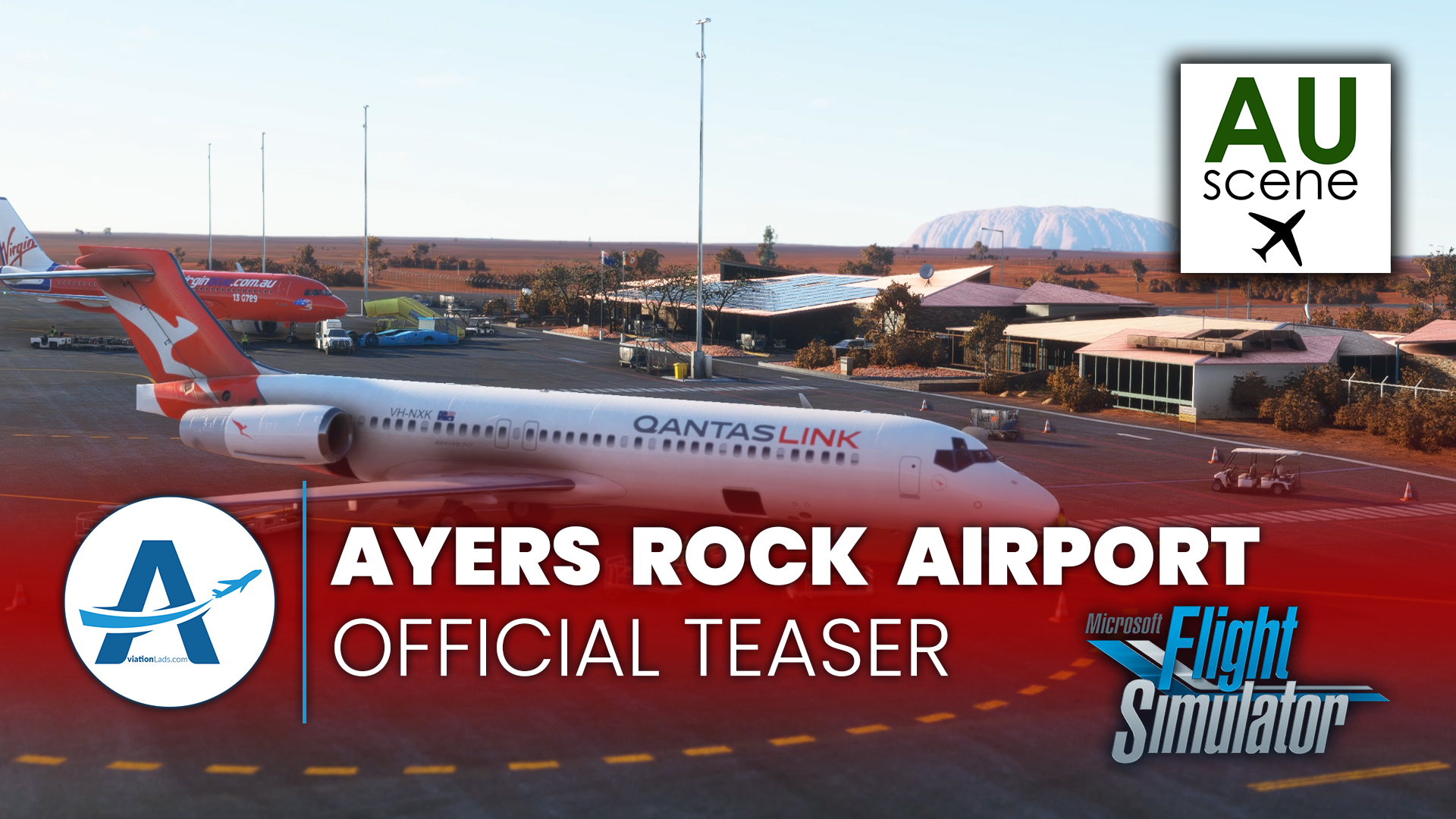 [TEASER] AUscene – Ayers Rock Airport